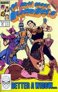 Etapas de Culto de Personajes Clásicos: Vengadores Costa Oeste de John Byrne