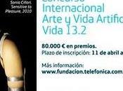Fundación Telefónica convoca Concurso Internacional Arte Vida Artificial