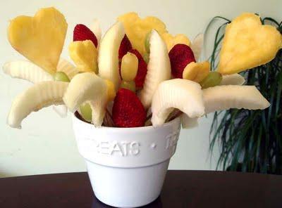ramos con frutas para decorar
