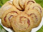 Biscuits spirales confiture pinwheel cookies galletas espiral mermelada بيسكوي حلزوني بالمربى