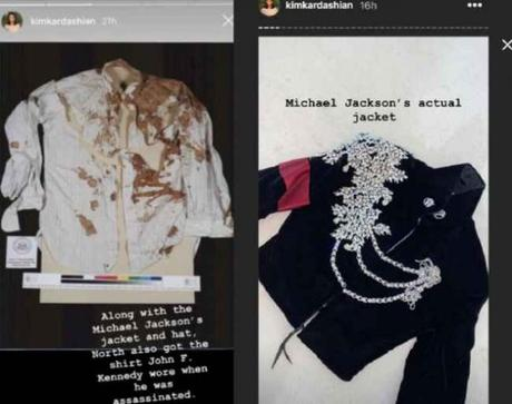 #KimKardashian niega haber regalado a #NorthWest la camisa ensangrentada de #JFK