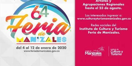 Programación Feria Manizales 2020 – 3 al 12 de Enero