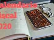 Calendario fiscal 2020 modelos tributarios
