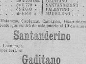 1894:La bandera española, vapores entre Santander Isla Cuba
