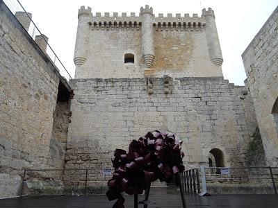Patio Castillo de Peñafiel