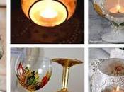 Convierte copas hermosas LAMPARAS MESA