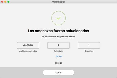 Antivirus Mac eliminar virus borrar Bitdefender