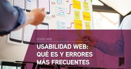 Usabilidad web: Qué es y errores más frecuentes
