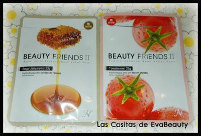 mascarillas faciales tissu beauty formulas