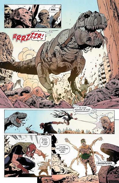 Zombies y dinosaurios