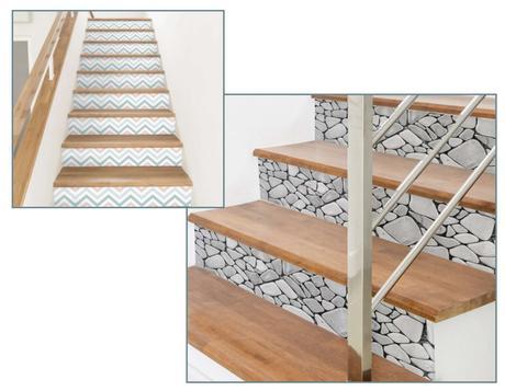 Las escaleras como parte de la decoración