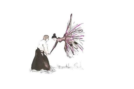 Un consejo transformador es como esta imagen de mi libro Alquimia Mía, elaborada por mi amiga Sara Arias de Pimpilipausa. Encontrar el equilibrio entre luchar con la vida y bailar con ella.