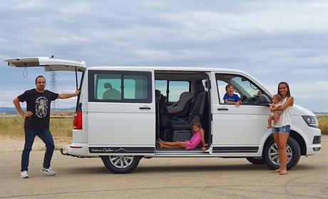 La furgoneta para nuestra familia con 3 niños: Volkswagen Multivan