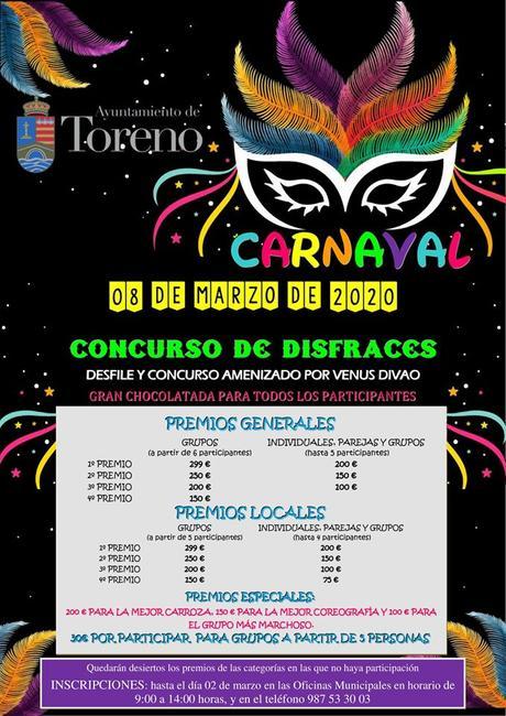 Carnaval 2020 en Toreno