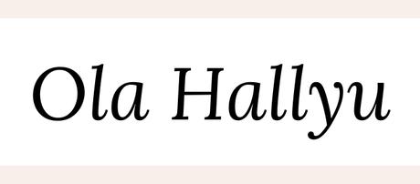Ola Hallyu 2019