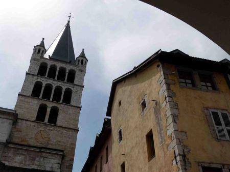 Curvígrafos y meridiana en Annecy