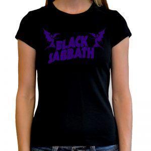 camiseta mujer iron maiden