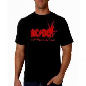 camiseta hombre ac/dc