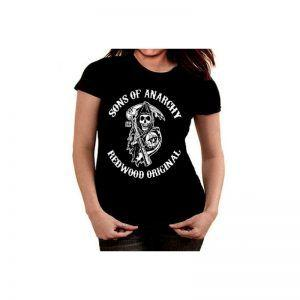 Camiseta mujer Gas Monkey Blood,sweat and beers