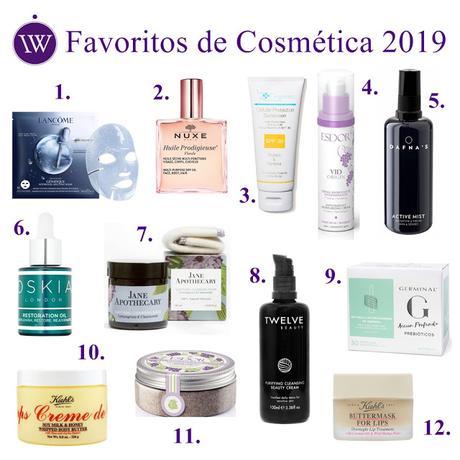 ♥ Mis Productos Favoritos de Cosmética de 2019