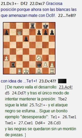 Una partida que vale más que diez partidas de AlphaZero