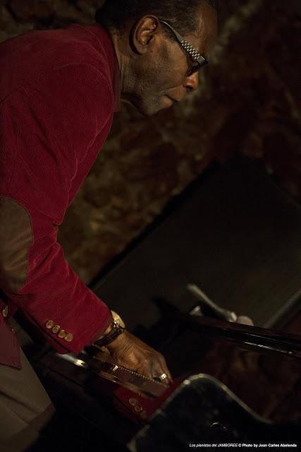 FOTO-Los pianistas del JAMBOREE-GEORGE CABLES