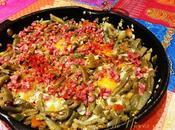 Cazuela nopales, jamón serrano huevos Cocinas Mundo (Yucatán)