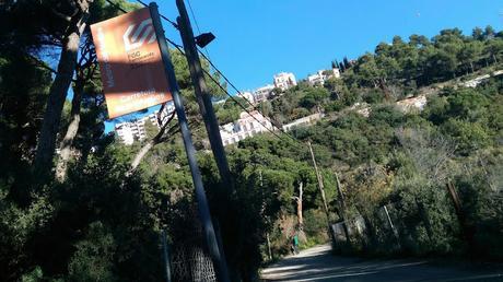 Passeig de les Aigües | Del Baixador de la Carretera de les Aigües al barrio de Penitents
