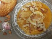 Sopa pollo jamón