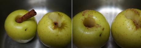 Manzanas asadas en olla express