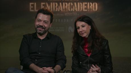 ENTREVISTA A ÁLEX PINA Y ESTHER MARTINEZ (CREADORES DE LA SERIE EL EMBARCADERO)