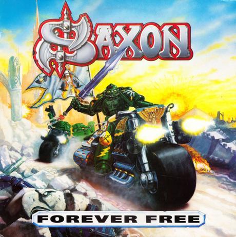 Forever Free de Saxon: Heavy Metal y Ángeles Oscuros!