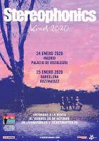 Concierto de Stereophonics y Nadia Sheikh en Madrid y Barcelona