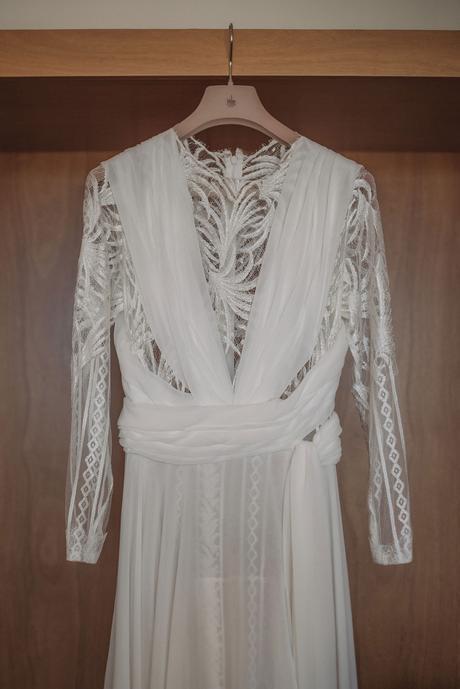 vestido de novia romántico Yolancris