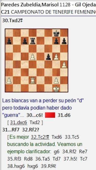Bonita pugna entre Adhara Rodríguez y Lucía Gil en el Campeonato Femenino de Tenerife 2020