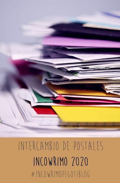 Participa: Intercambio postal (Incowrimo 2020)