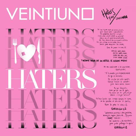 Veintiuno: Bésame hasta que los 'Haters' se queden mudos