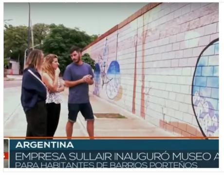 Empresa Sullair emprende proyecto de intervención callejera