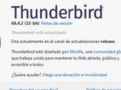 Thunderbird 68.4.2: actualizaciones seguridad problemas resueltos