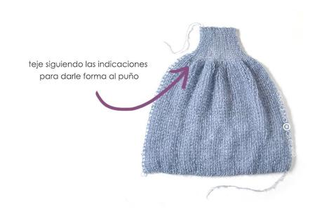 Cómo tejer un Cardigan de Mohair a dos agujas- Cloud Cardi - Patrón y Tutorial -