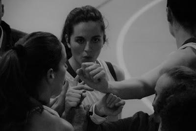 Galería de clics del Bàsquet Femení Sant Adrià-Unicaja (Liga Femenina 2)