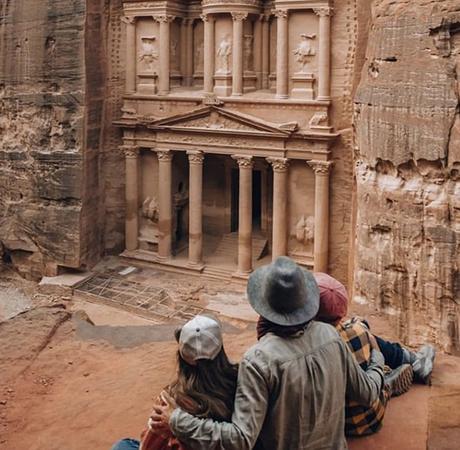 viajar con niños a Jordania
