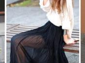 Outfit Falda Tubo Roja