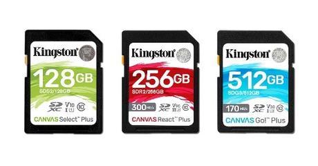 Kingston presenta nuevas tarjetas UHS-II y unidades SSD NVMe PCIe Gen 4.0