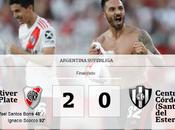 River derrotó Central Córdoba Santiago Estero mantiene punta Superliga.