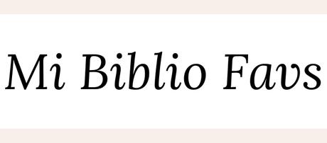 Mi Biblio Favs: Enero