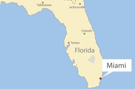 Radar meteorológico en vivo de Miami(Florida)