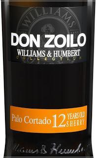 Palo Cortado Don Zoilo 12 años. Williams & Humbert.