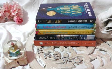 Mis lecturas del mes: enero con té y fantasía
