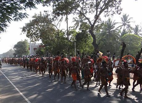 Pada Yatra to Palani at Thai Pusam season